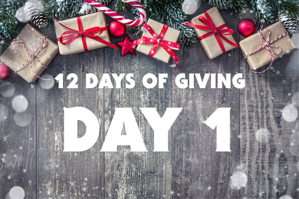 Day 1 - 12 Days of Giving