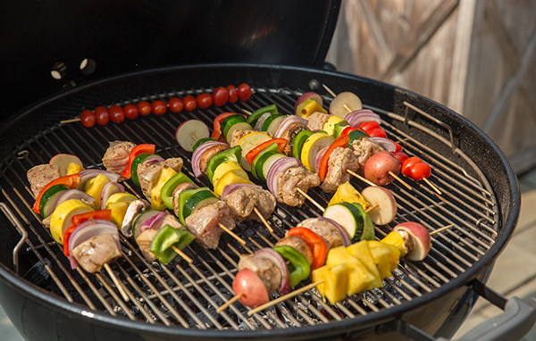 FOGO, Recipe, FOGO Charcoal, Pork and Veggie Kebabs