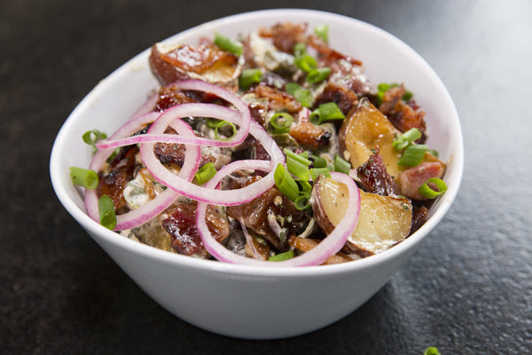 Hot Potato Salad: ready to serve (hot or cold)