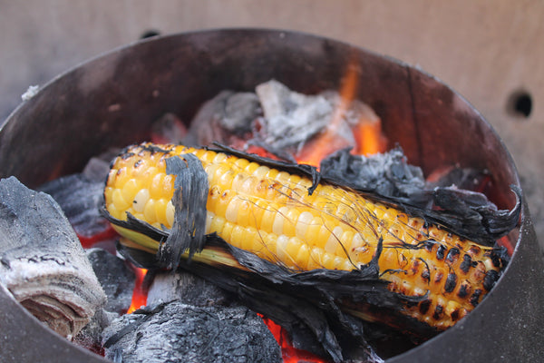 Enjoy your grilled corn on the cob