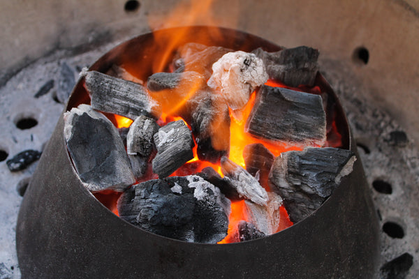 Light your Fogo Charcoal