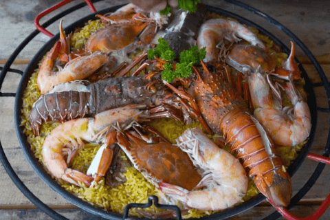 Seafood Paella by FOGO
