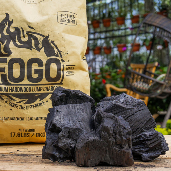 Fogo 17 6 Pound Super Lump Premium Hardwood Charcoal Bag