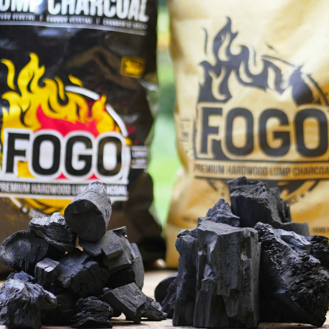 Fogo 35-pound Super Premium Hardwood Lump Charcoal Bag
