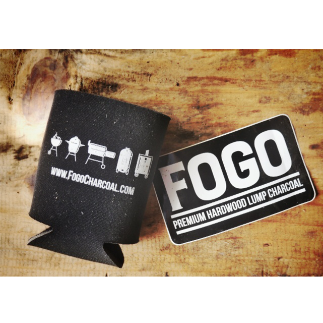 FOGO Fan Pack (Sticker + Koozie)