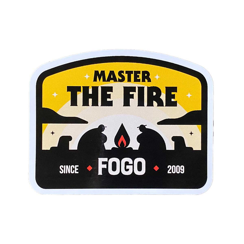 FOGO Master the Fire Sticker