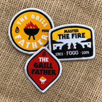 Father's day Patches (3 pack)
