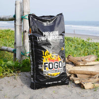 FOGO Premium Lump Charcoal 35lbs (Black Bag)