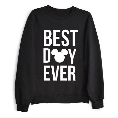 The most wonderful time to wear ears Crewneck