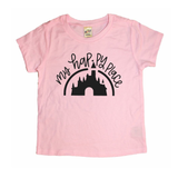 Happy Place Light Pink Tee