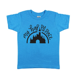 Happy Place Island Blue Tee