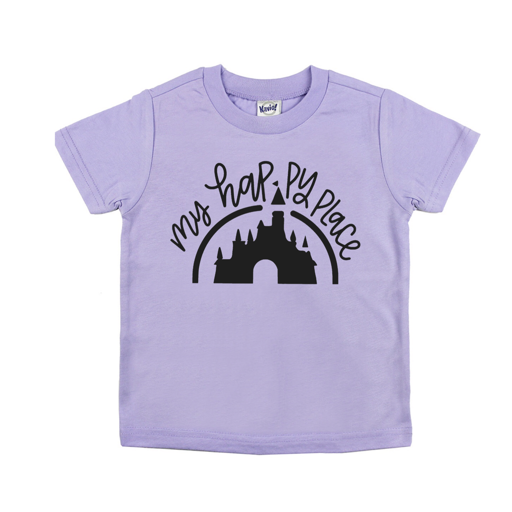 Happy Place Lavender Tee
