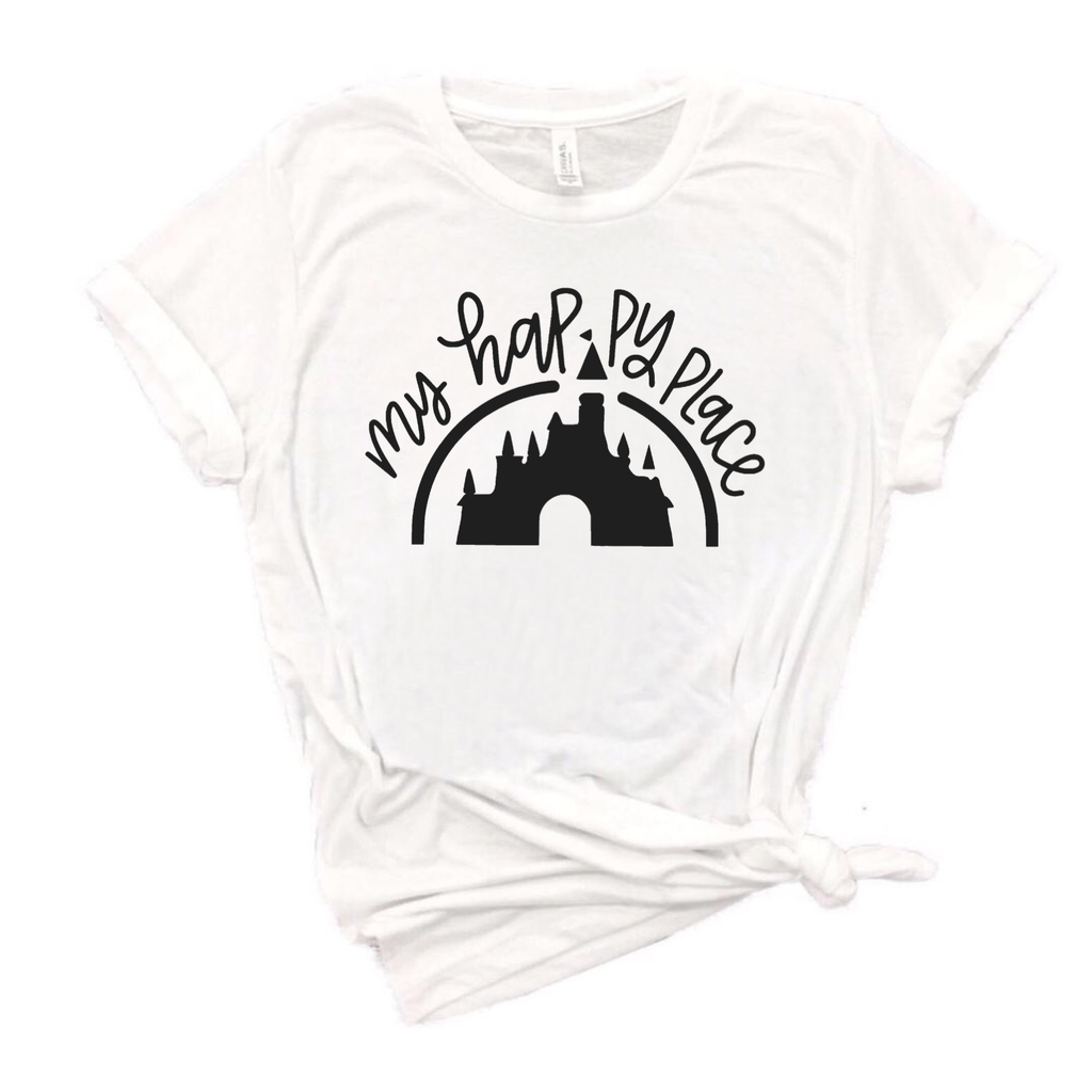Happy Place Adult Tee