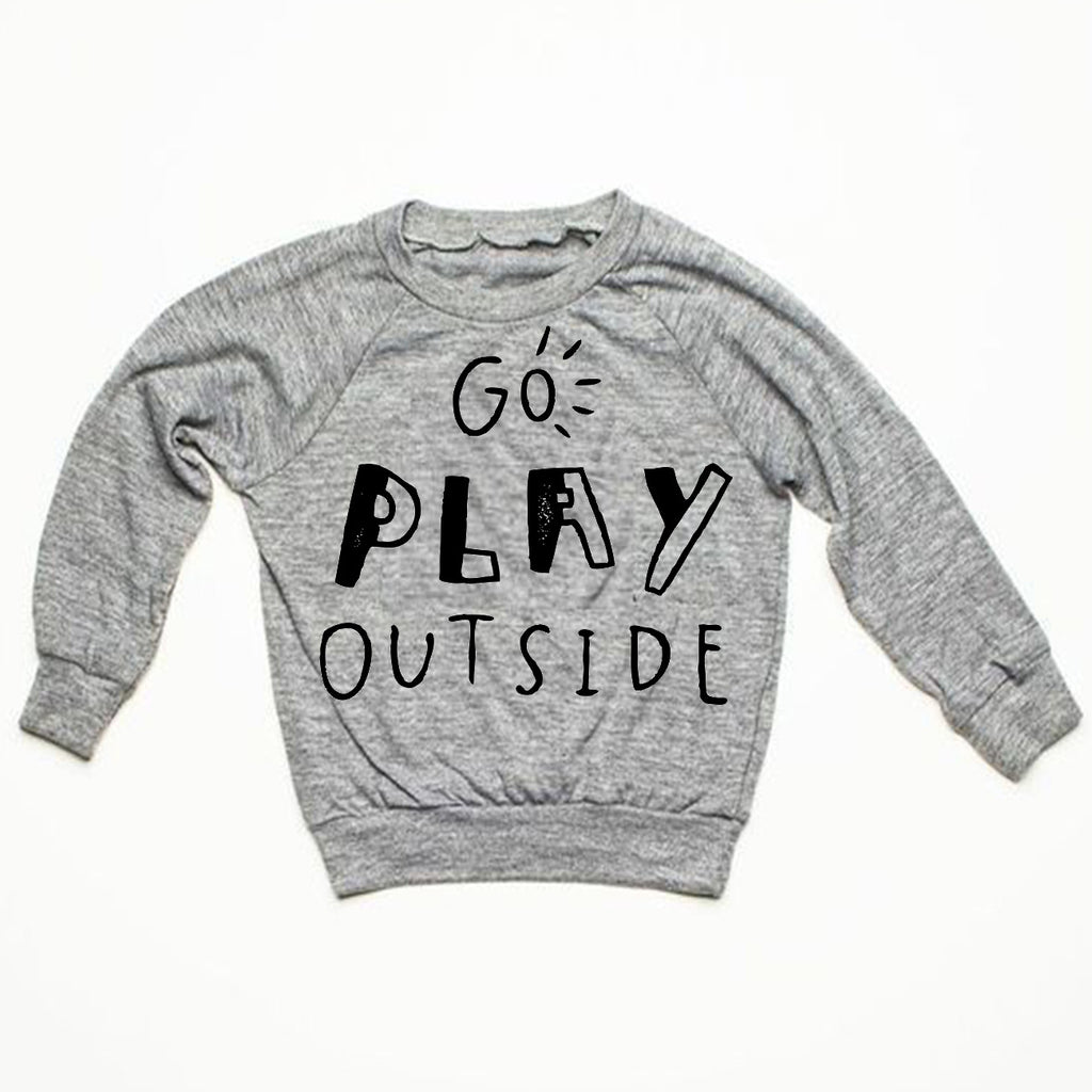Go Play Outside Pullover