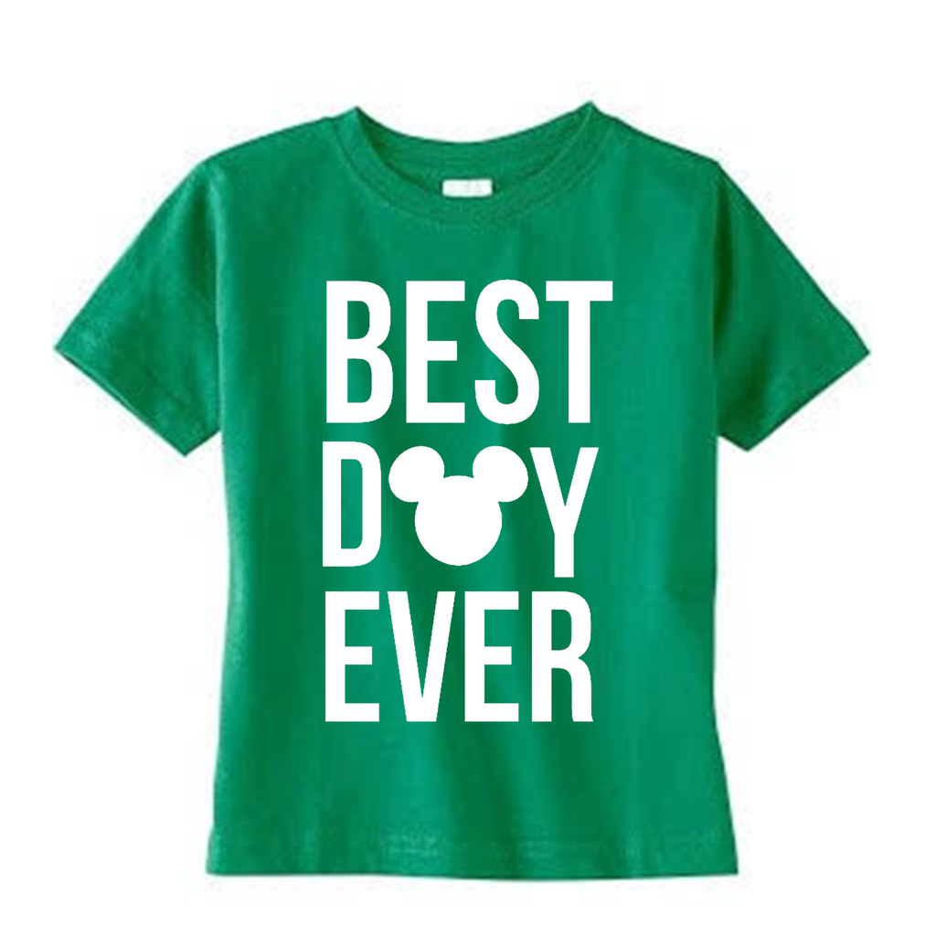 Best Day Ever Green Tee