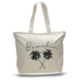 Beachin' Zipper Tote Bag