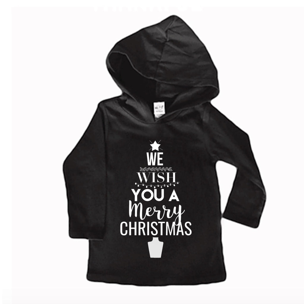 We Wish You A Merry Christmas Light Weight Hoodie