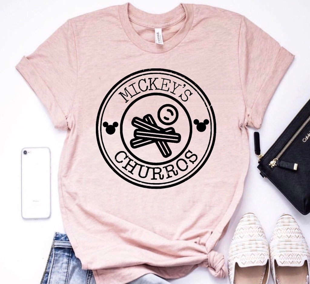 Mickey's Churro Adult Tee