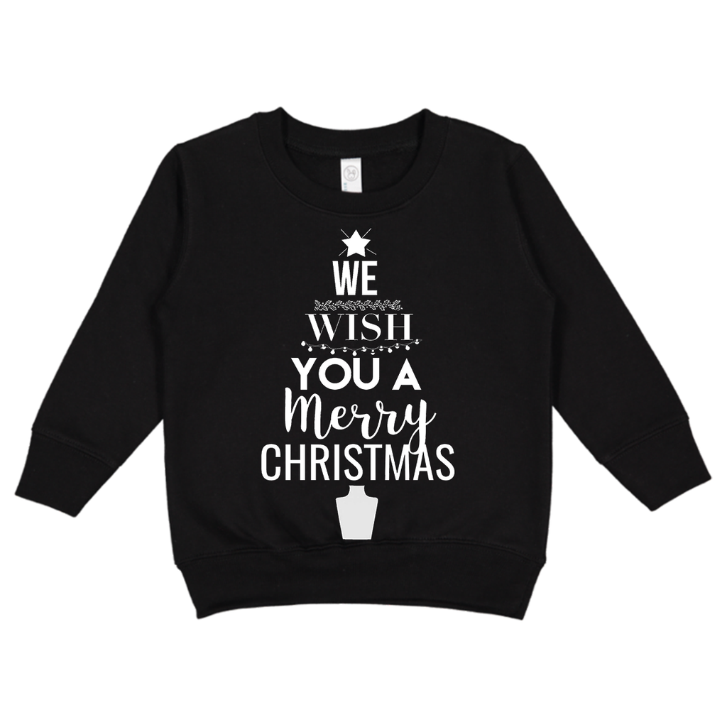 We Wish You A Merry Christmas Crewneck