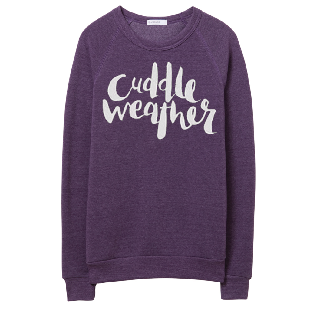 Cuddle Weather Purple Pullover