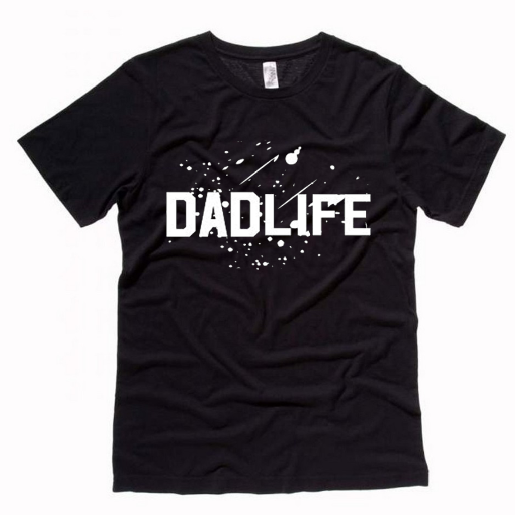 Dad Life Paint Splatter Tee