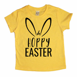 Hoppy Easter Yellow Tee