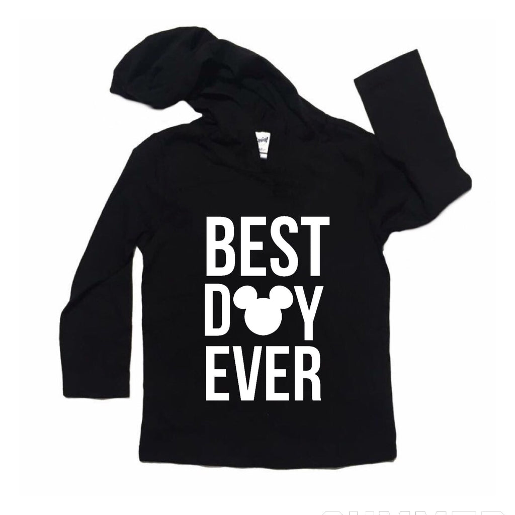Best Day Ever Black Hoodie