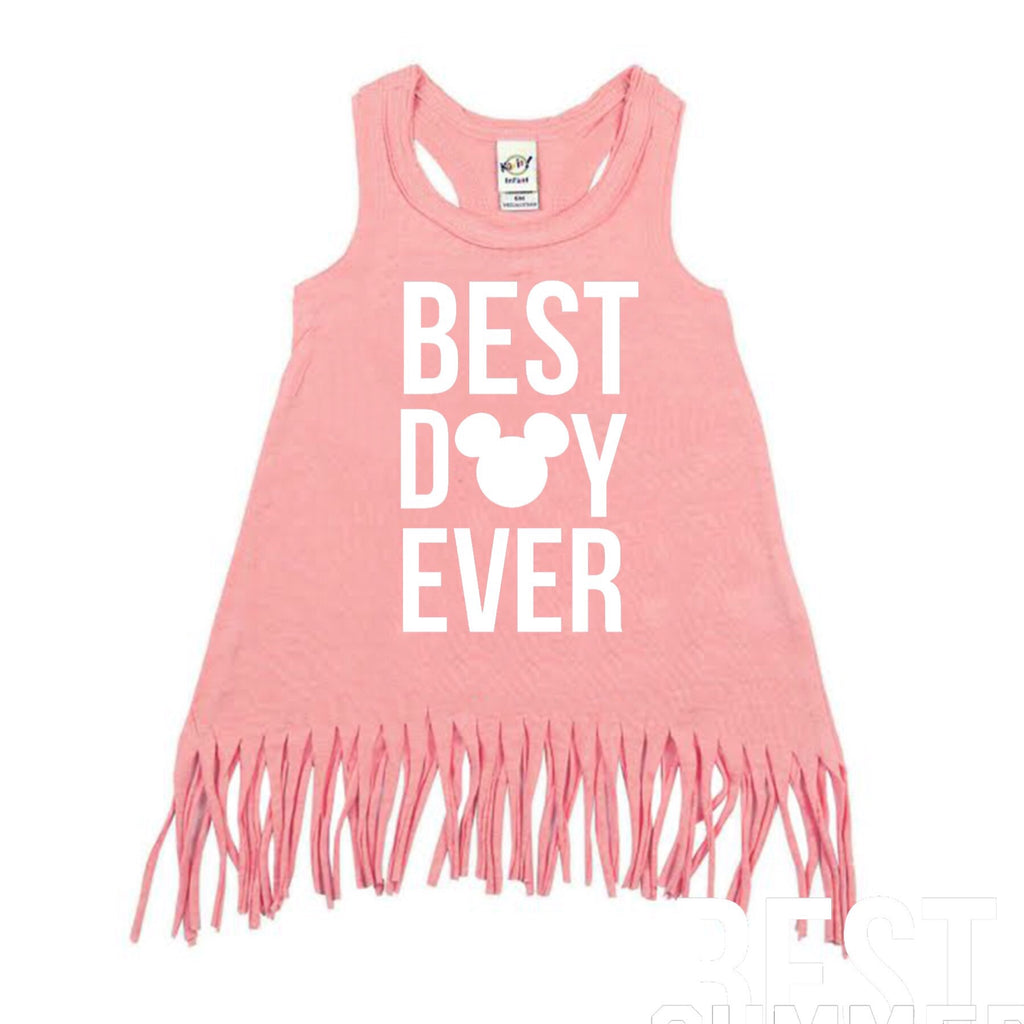 Best Day Ever Flamingo Pink Dress