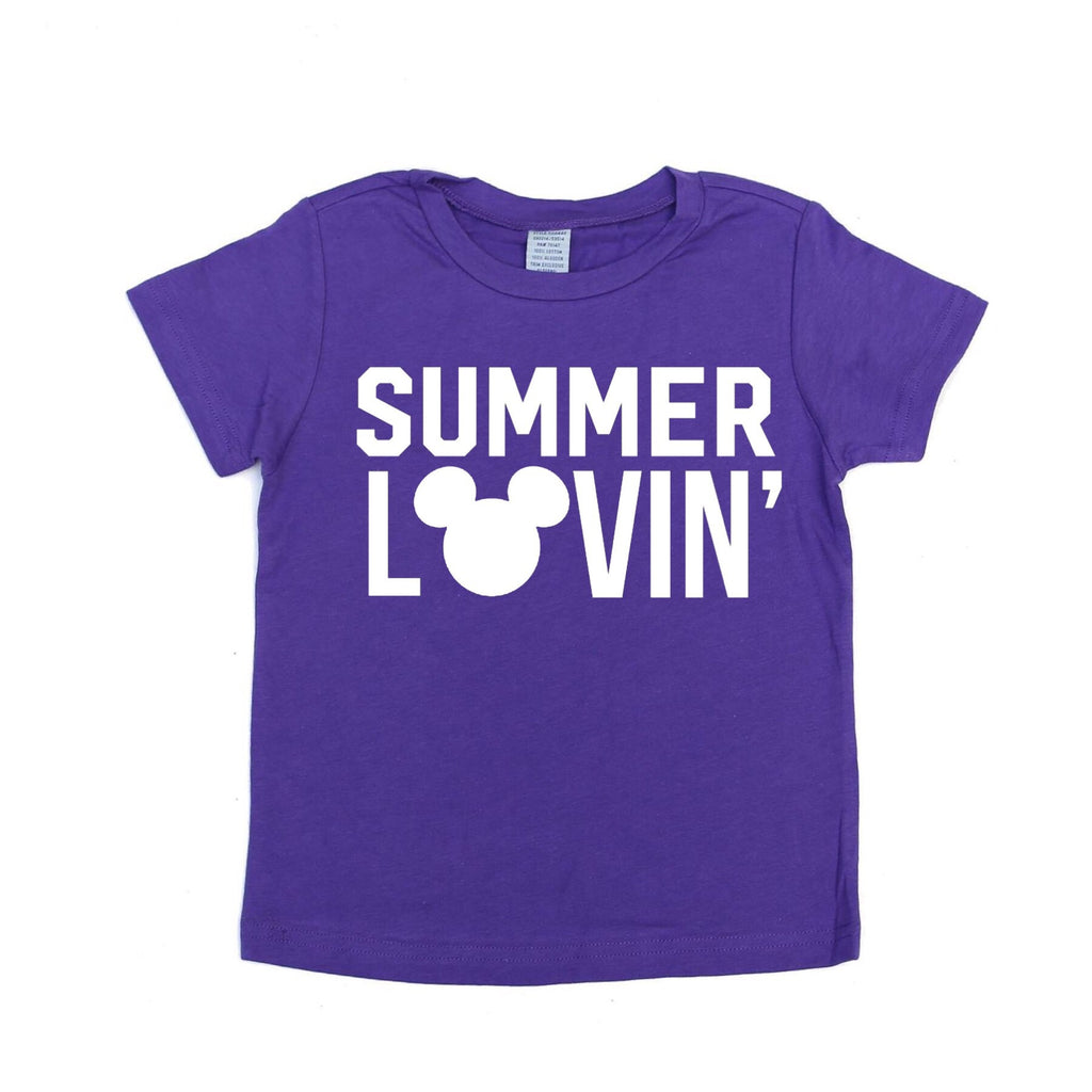 Summer Lovin' Purple Tee
