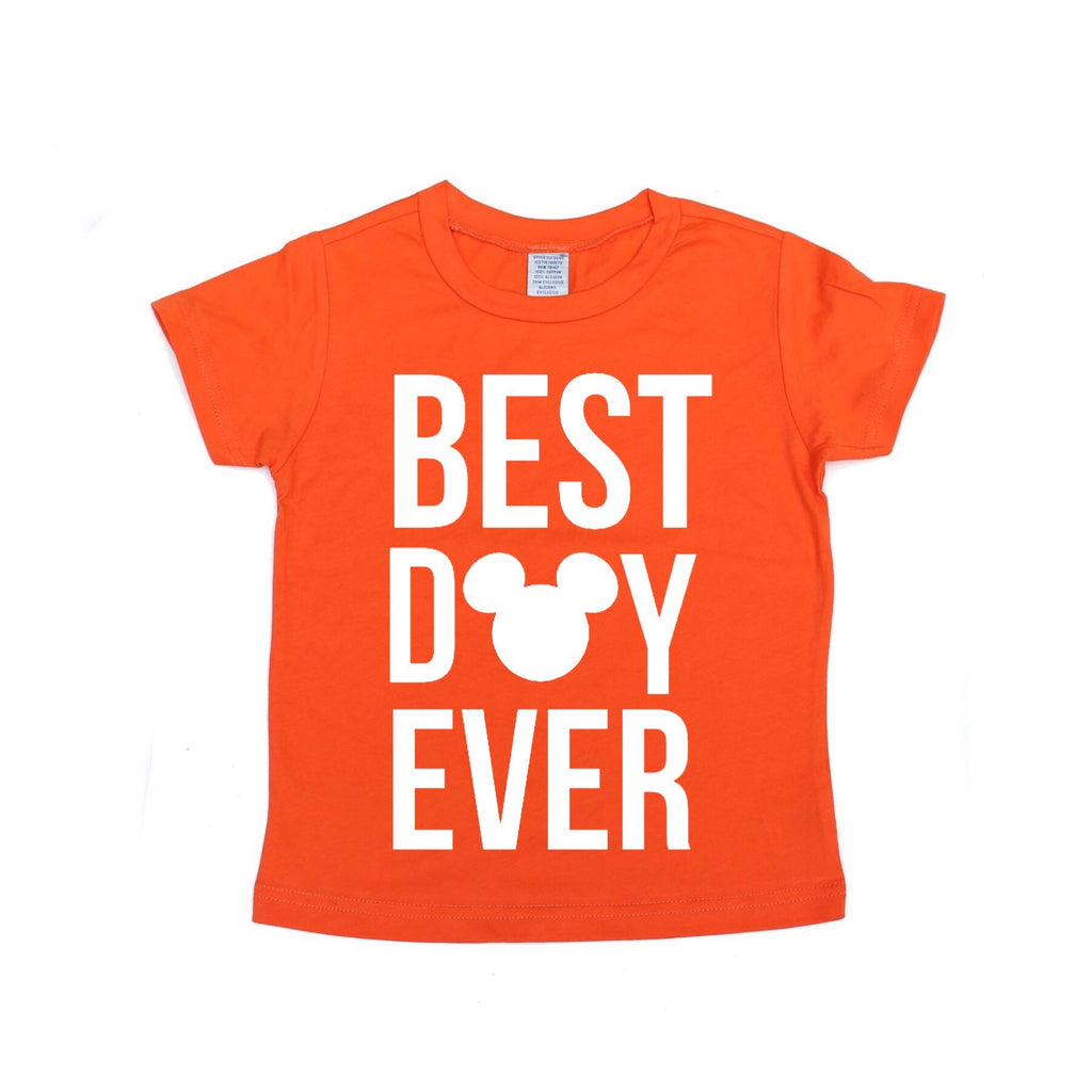Best Day Ever Orange Tee