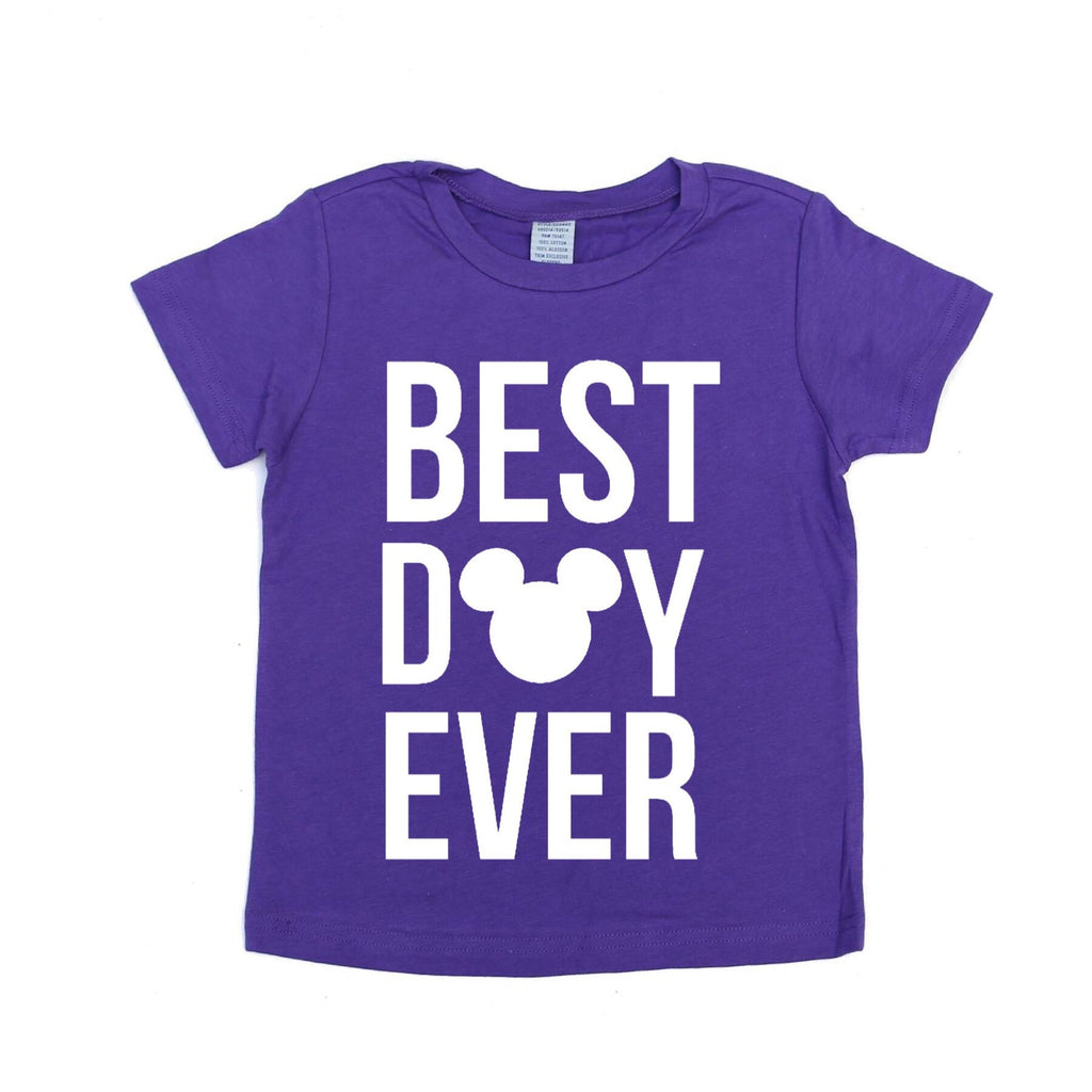 Best Day Ever Purple Tee