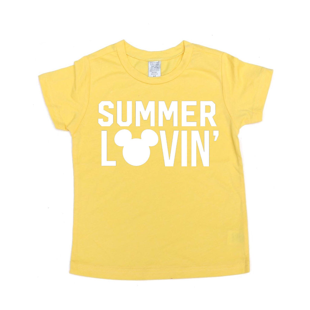 Summer Lovin' Yellow Tee
