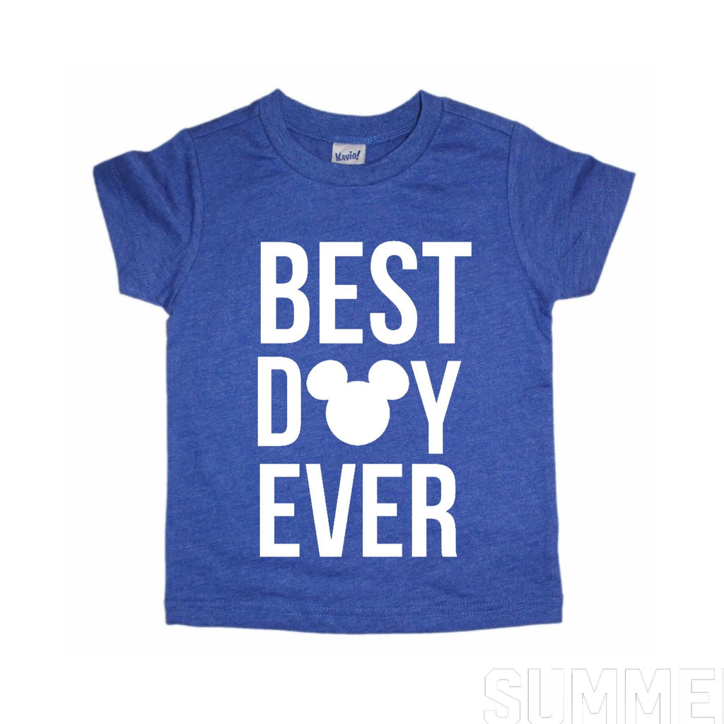 Best Day Ever Navy Tee