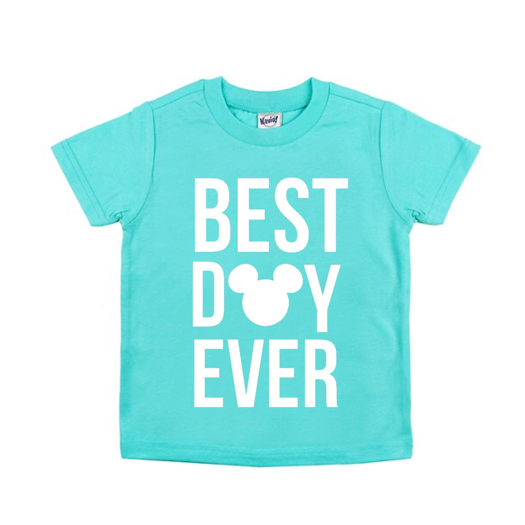 Best Day Ever Caribbean Blue Tee