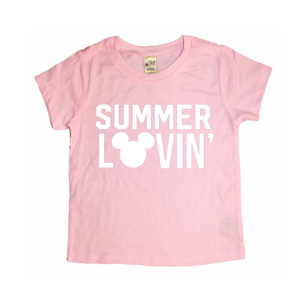 Summer Lovin' Light Pink Tee