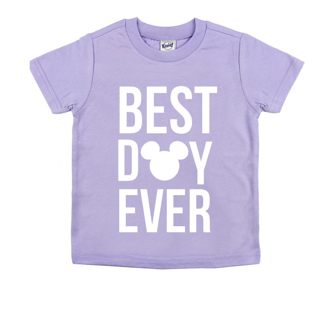 Best Day Ever Lavender Tee