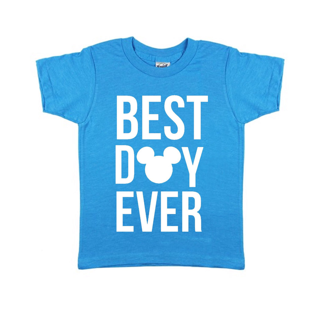 Best Day Ever Island Blue Tee