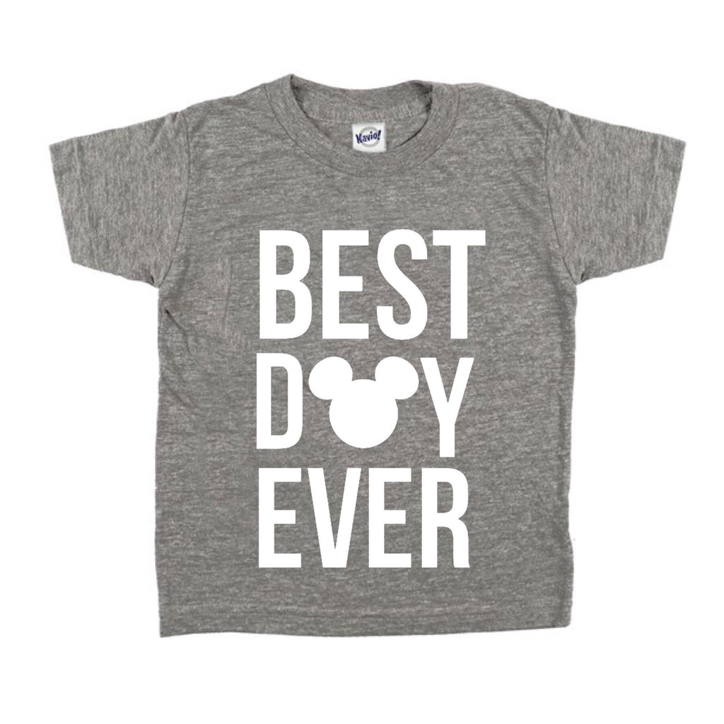 Best Day Ever Grey Tee