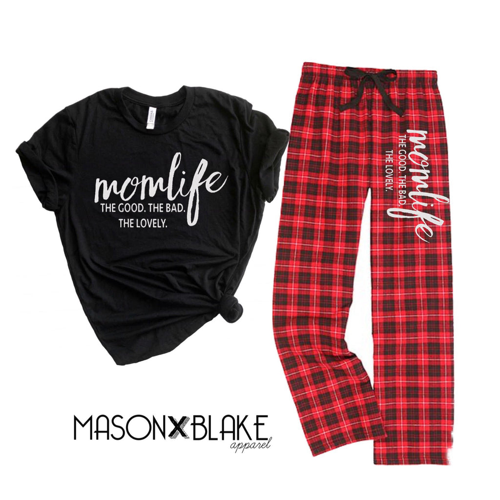 Mom Life Holiday PJ's