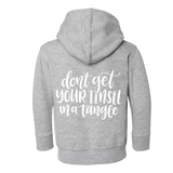 Don't Get Your Tinsel In a Tangle Zip Up