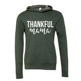 Thankful Mama Hunter Green Hoodie