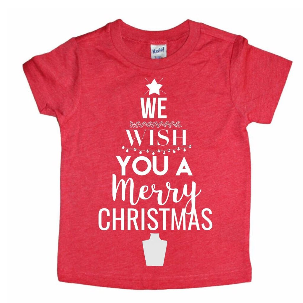We Wish You A Merry Christmas Tee