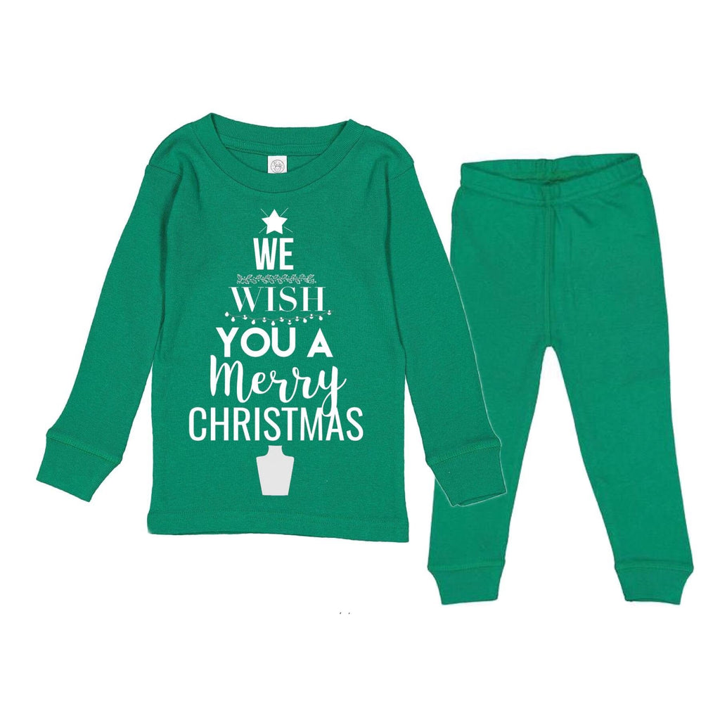 We Wish You A Merry Christmas PJ'S