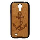 Anchor Wooden Galaxy s4 Case - Galaxy s4