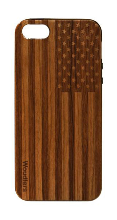 American Flag Wooden iPhone SE Case - iPhone SE