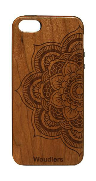 Mandala Wooden iPhone 5/5s Case - iPhone 5/5s