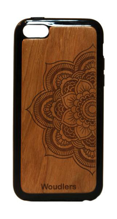 Mandala Wooden iPhone 5c Case - iPhone 5c