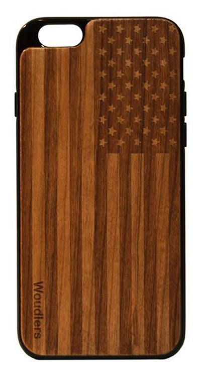 American Flag Wooden iPhone 6/6s Plus Case - iPhone 6/6s Plus