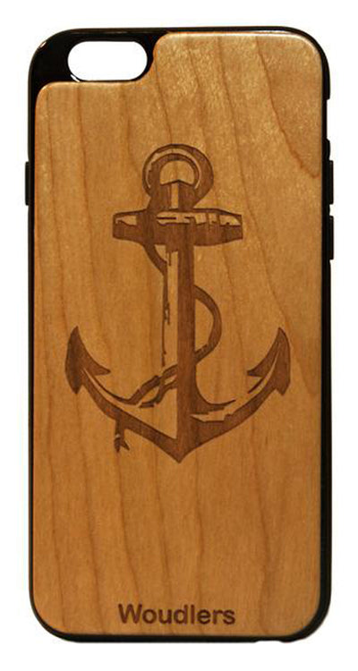 Anchor Wooden iPhone 6/6s Plus Case - iPhone 6/6s Plus