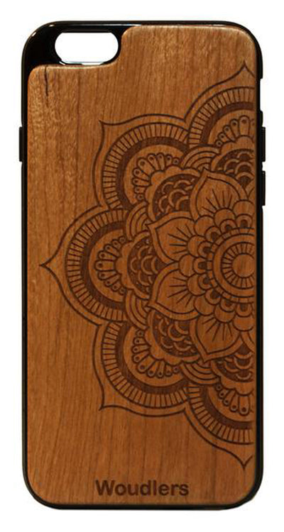 Mandala Wooden iPhone 6/6s Plus Case - iPhone 6/6s Plus